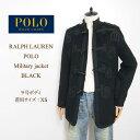 ラルフローレン ポロ レディース ナポレオンジャケット デザイン コート/ブラックPOLO by Ralph Lauren