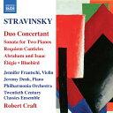作曲家名: Sa行 - ストラヴィンスキー(1882-1971):協奏的二重奏曲 他