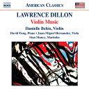 Composer: Ta Line - ディロン(1959-):ヴァイオリン作品集