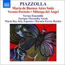 作曲家名: Ha行 - ピアソラ:組曲「ブエノスアイレスのマリア」/ブエノスアイレスの夏/天使のミロンガ