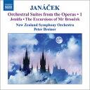 作曲家名: Ya行 - ヤナーチェク:オペラからの管弦楽組曲集1