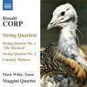 Composer: Ka Line - コープ(1951-):弦楽四重奏曲 第1番「バスタード」&第2番 他
