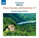 作曲家名: Ra行 - リース(1784-1838):ピアノ・ソナタとソナチネ 第5集