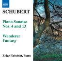 作曲家名: Sa行 - シューベルト(1797-1828):ピアノ・ソナタ 第4番&第13番&さすらい人幻想曲