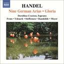 作曲家名: Ra行 - ヘンデル:9つのドイツ語アリア集・グローリア