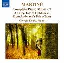 器樂曲 - マルティヌー:ピアノ作品全集 第7集
