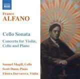 アルファーノ:ヴァイオリン、チェロとピアノのためのコンチェルト 他