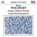 Composer: A Line - ウォロソフ:無言歌集~弦楽四重奏のための18のディヴェルティメント
