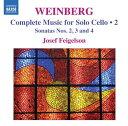 作曲家名: A行 - ヴァインベルク:独奏チェロのための作品集 第2集