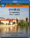 Composer: Ta Line - ドヴォルザーク(1841-1904):交響曲第7番&第8番[Blu-ray Audio]