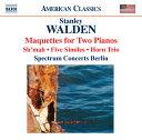 Composer: A Line - ウォルデン:2台のピアノのためのマクェット 他