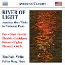 光の川・アメリカのヴァイオリンとピアノのための小品集
