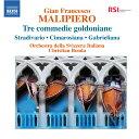 交響曲 - マリピエロ:ゴルドーニの3つの喜劇 他