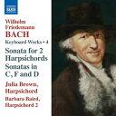 作曲家名: A行 - W.F.バッハ:鍵盤のための作品集 第4集