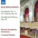 Composer: Ra Line - ラフマニノフ:交響曲 第3番 他