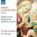 樂天商城 - ミサ・コンチェプティオ・トゥーア 〜待降節のための中世とルネッサンスの音楽