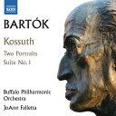 作曲家名: Ha行 - バルトーク:交響詩「コッシュート」/2つのポートレート・組曲