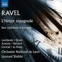 樂天商城 - ラヴェル:歌劇「スペインの時計」/ドゥルシネア姫に思いを寄せるドン・キホーテ