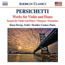 作曲家名: Ha行 - パーシケッティ:ヴァイオリンとピアノのための作品集