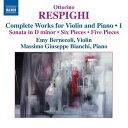 作曲家名: Ra行 - レスピーギ:ヴァイオリンとピアノのための作品集 第1集
