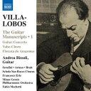 Composer: A Line - ヴィラ=ロボス:ギターの写本 傑作集と失われた作品集 第1集
