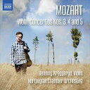 Composer: Ma Line - モーツァルト:ヴァオリン協奏曲 第3番・第4番・第5番