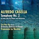 作曲家名: Ka行 - カセッラ:交響曲 第2番 ハ短調 Op.12/ピアノとオーケストラのための「深夜に」
