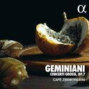 樂天商城 - ジェミニアーニ:合奏協奏曲集 Op.7