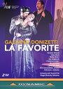 乐天商城 - ドニゼッティ:歌劇《ファヴォリート》(フランス語歌唱)[DVD, 2枚組]