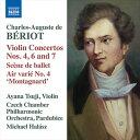 Composer: Ma Line - シャルル・オーギュスト・ド・ベリオ:ヴァイオリン協奏曲集
