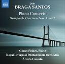 ブラガ・サントス:交響的序曲/ピアノ協奏曲 他