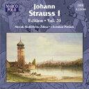 J.シュトラウス1世:管弦楽作品集 第20集