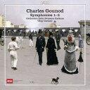 作曲家名: Ka行 - シャルル・グノー:交響曲集(Charles Gounod: Symphonies1-3)[2CDs]
