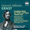 作曲家名: A行 - エルンスト:ヴァイオリンとピアノのための作品全集 第1集