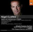 樂天商城 - ナイジェル・クラーク:13の独奏楽器のための室内楽集