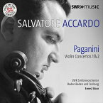 サルヴァトーレ・アッカルド 〜パガニーニ:ヴァイオリン協奏曲 第1番&第2番《オリジナルSWRテープ・リマスター 1961-1970》