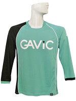 (ガビック) GAVIC/ジュニア長袖プラクティスシャツ/グリーンXブラック/簡易配送(CARDのみ送料注文後変更/1点限/保障無)の画像