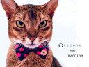 necono - ネコノ - 『 mannine cat Ribbon necklace 』猫 リボン 首輪 安全 おしゃれ ファッション ブランド マンナイン ネックレス 赤..