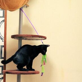 ゴーキャットゴーワンズフェザー〔1本〕猫猫じゃらしおもちゃ羽フェザー紐ひも