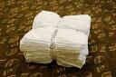 【売れ筋】【おススメ】【日用品】使い捨て雑巾 おしぼり使い捨て 使い捨てタオル 使い捨てウエス 使い捨ておしぼりウエス 白70匁(100枚入り)