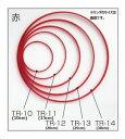 つるし飾り用 リング(赤) 25cm TR-13 (ネコポス不可)