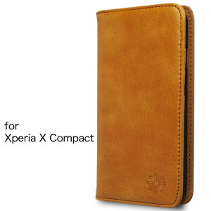 Xperia X Compact エクスペリア ケース カバー 手帳型