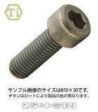 チタン キャップボルト [ 全ねじ ]  M6 × 15 【 2本入 】