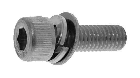 鉄(SCM435)/ユニクロ キャップセムス [P=4]M4×10 【 小箱 : 1箱/1000本入り 】 【手】