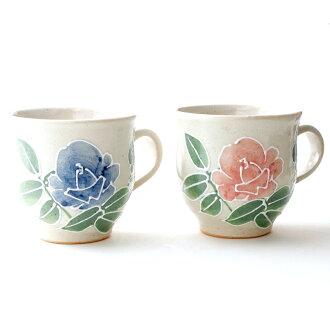 Kutani 瓷杯子在金澤玫瑰杯婚禮上對妻子的結婚周年紀念日,父母世界一禮品禮物幾茶杯我媽媽尊重老年金銀婚紀念日第 60 / 70 歲生日 / 77 / 飾品 / 88 歲生日 / 卒壽 / 慶祝