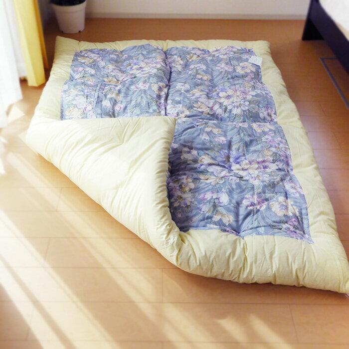 日本製 綿掛け布団 シングル 和布団 職人手づ...の紹介画像2