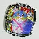 【クラウディア・サンチェス】猫のコンパクトミラー プリシラの約束