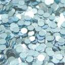 MysticFlakes メタリックLtブルー/サークル 1mm 0.5g【ネイルアート/アートアクセサリー/ラメ/ホログラム/グリッター/ネイル用品】
