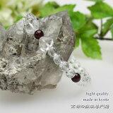 パワーストーン|数珠|ハート型 ◇パワーストーン|数珠 ハート型本水晶 6ミリガーネット ...