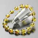 パワーストーン ブレスレット ハート型 シトリン 約4ミリ 本水晶 【天然石/黄水晶/11月の誕生石 BIM 108000063】【送料無料】